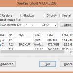 Hướng dẫn Ghost Windows Xp, 7, 8, 10 bằng phần mềm Onekey Ghost 2018